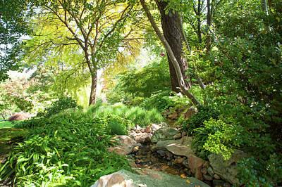 Photograph - Secret Heaven. Japanese Garden by Jenny Rainbow