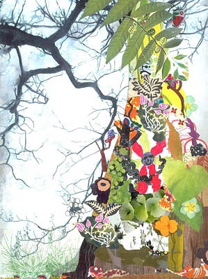 Painting - Secret Life Of The Tree by Gloria Von Sperling