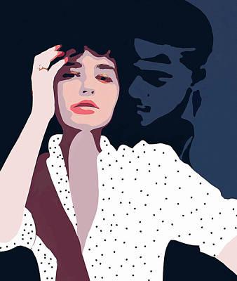 Digital Art - Secret Lover by Uma Gokhale