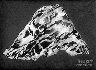 Secret Mountain Art Print by Mary Zimmerman