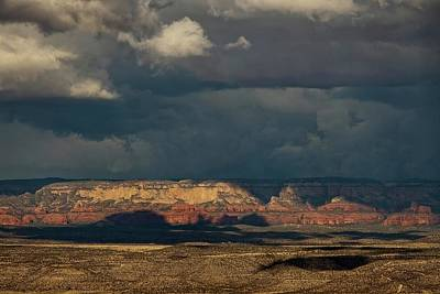 Photograph - Secret Mountain Wilderness Storm by Ron Chilston