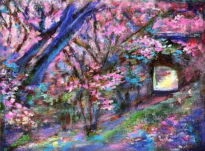 Painting - Secret Path 2 by Usha Shantharam