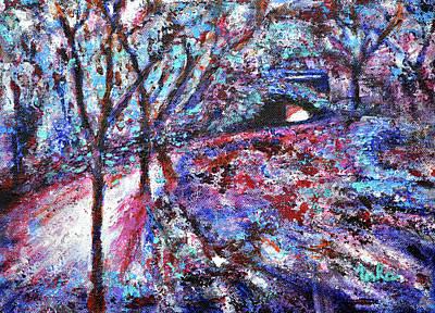 Painting - Secret Path by Usha Shantharam