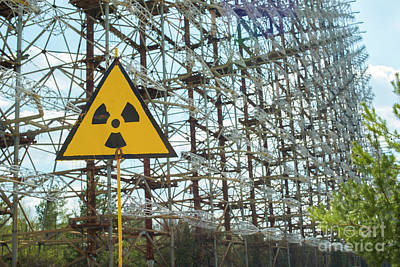 Photograph - Secret Soviet Antenna Called Duga Radar Hidden In Chernobyl Zone by Juli Scalzi