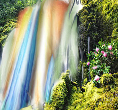 Painting - Secret Waterfall Of Life by Belinda Threeths