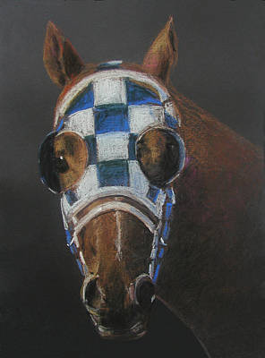 Race Horse Pastel - Secretariat - Jewel Of The 1973 Triple Crown by Arline Wagner