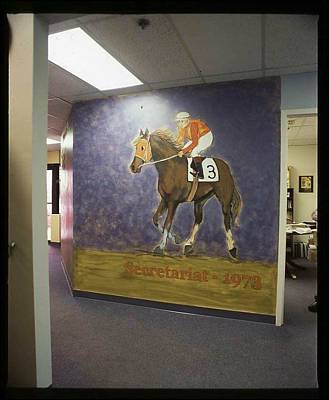 Painting - Secretariat by Michelle Spiziri