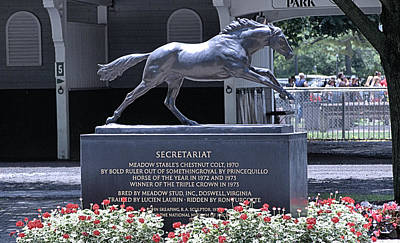 Photograph - Secretariat by  Newwwman
