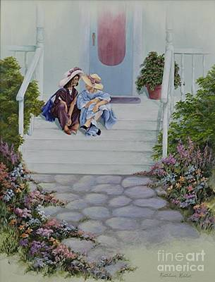Painting - Secrets by Kathleen Keller