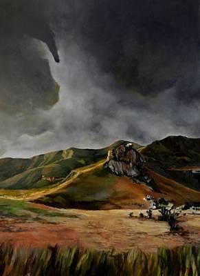 Golden Gate Park Painting - Secrets Of Africa - Golden Gate by Jolante Hesse