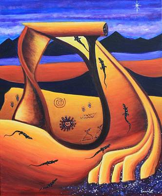 Painting - Secrets Of The Anasazi by Art Enrico