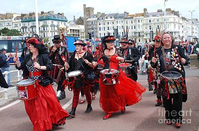 Photograph - Section 5 Drummers At Hastings by David Fowler