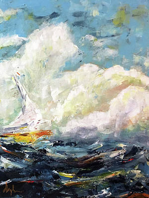 Painting - Secured In The Storm by Dave Baysden