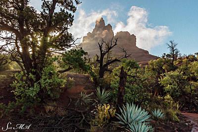 Photograph - Sed Misc 04-042 Bell Rock by Scott McAllister