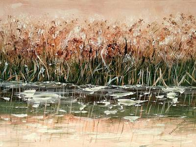 Painting - Sedge by Sharon Tabor