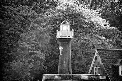 Photograph - Sedgely Club - Turtle Rock Lighthouse by Bill Cannon