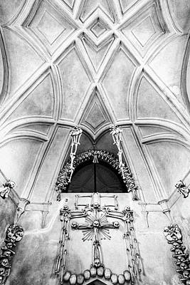 Photograph - Sedlec Ossuary #2 - Czech Republic by Stuart Litoff