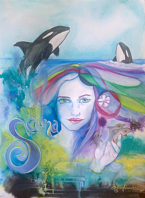 Painting - Sedna by Shelley Overton
