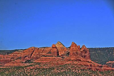 Photograph - Sedona # 12 - Red Rocks by Allen Beatty