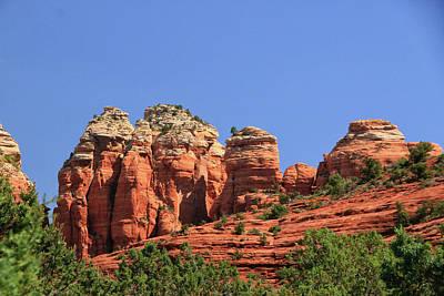 Photograph - Sedona # 15 - Red Rocks by Allen Beatty