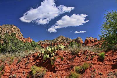 Photograph - Sedona # 16 - Red Rocks by Allen Beatty
