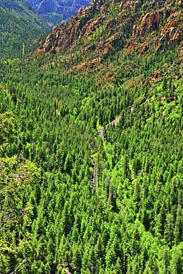 Photograph - Sedona # 2  - Oak Creek Vista by Allen Beatty