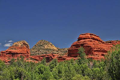 Photograph - Sedona # 28 - Red Rocks by Allen Beatty