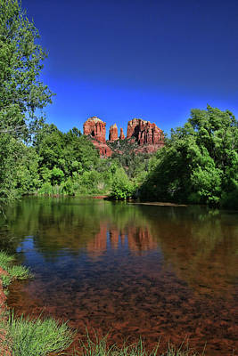 Photograph - Sedona # 36 - Cathedral Rock by Allen Beatty