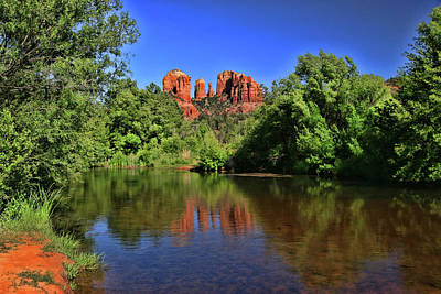 Photograph - Sedona # 35 - Cathedral Rock by Allen Beatty