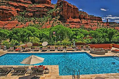 Photograph - Sedona # 34 - Enchantment Resort by Allen Beatty
