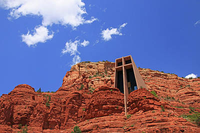 Photograph - Sedona # 39 - Chapel Of The Holy Cross by Allen Beatty