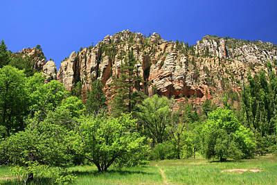 Photograph - Sedona # 4  - Slide Rock State Park by Allen Beatty