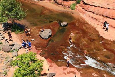 Photograph - Sedona # 5  - Slide Rock State Park by Allen Beatty