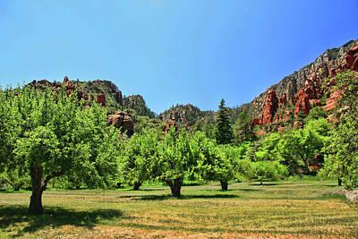 Photograph - Sedona # 6 - Slide Rock State Park by Allen Beatty