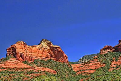 Photograph - Sedona # 9 - Red Rocks by Allen Beatty