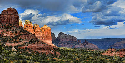 Sedona After The Storm Art Print