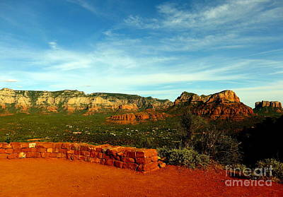 Sedona Airport Vortex Art Print by Marlene Rose Besso