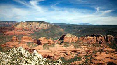 Great Outdoors Photograph - Sedona, Arizona by American School