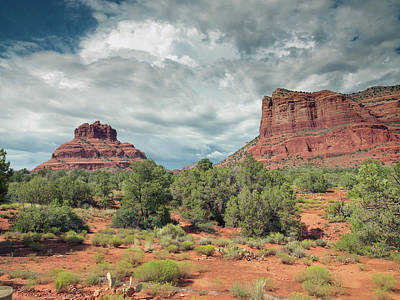 Photograph - Sedona Arizona Desert View by Carol Highsmith