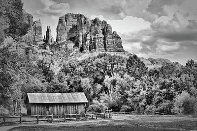 Photograph - Sedona Arizona Landscape - Cathedral Point by Gregory Ballos