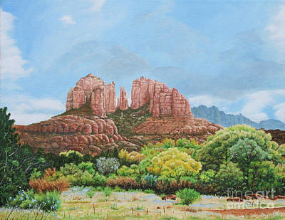 Sedona Az Art Print by Mike Ivey