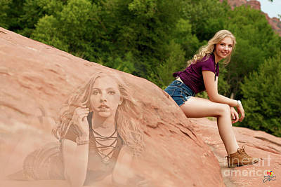 Photograph - Sedona Background by Afrodita Ellerman