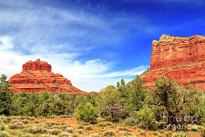 Photograph - Sedona Bell Rock In The Distance by John Rizzuto