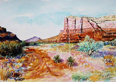 Sedona Bound Art Print