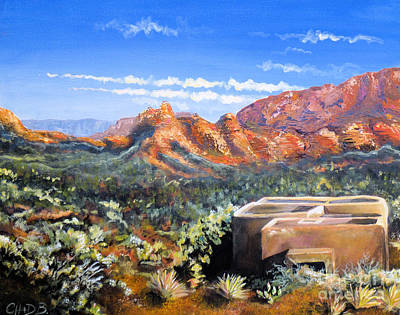 Sedona Art Print by Chad Berglund