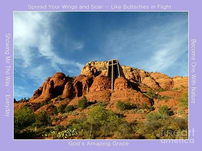Photograph - Sedona Chapel Of Holy Cross by Marlene Rose Besso