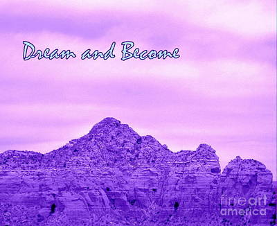 Photograph - Sedona Dreaming by Marlene Rose Besso