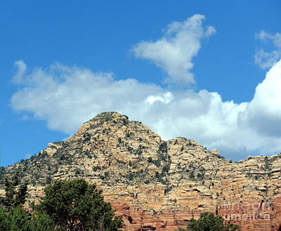 Photograph - Sedona Heart Cloud Leap Day by Marlene Rose Besso