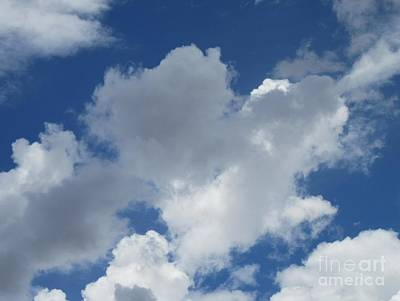 Photograph - Sedona Heart Cloud by Marlene Rose Besso