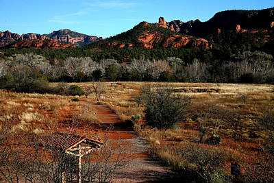 Sedona Art Print by Jennilyn Benedicto